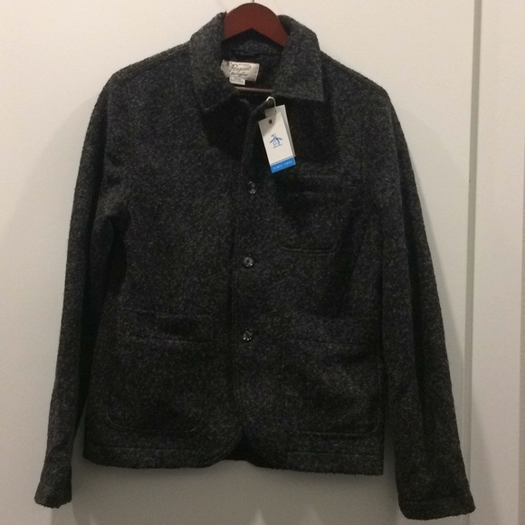 869a612998959d BNWT Original Penguin Munsingwear wool jacket S